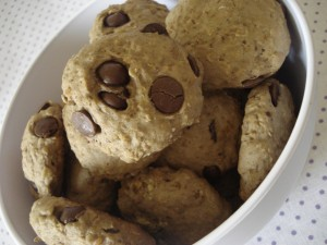 Cookies com Gro de Bico