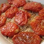 kibe de soja recheado com tomate seco