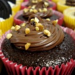 Cupcake ferrero rocher vegan