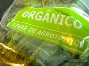 Hortelã orgânica