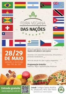 Feira das Nações vegana 29/05/16