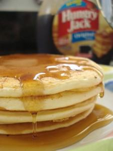 pancakes de laranja