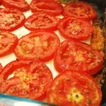 Lasanha com tomate assado à bolonhesa