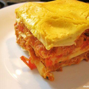 Lasanha-com-tomates-assado-à-bolonhesa-chubby-vegan