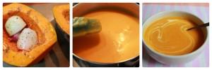 Sopa de Abóbora assada com Leite de Coco