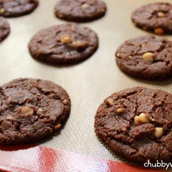 Cookie-de-avelã-chubby-vegan