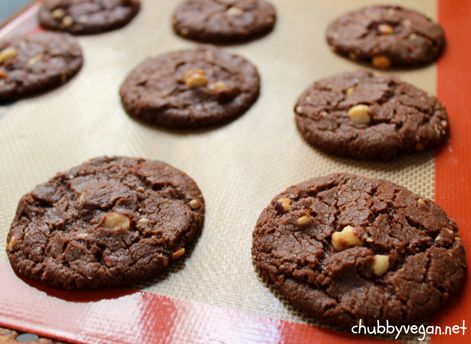 Cookie-de-avelã-chubby-vegan