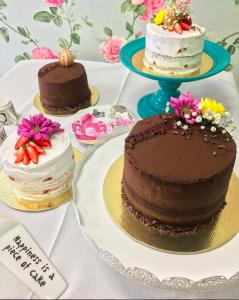 curso bolos veganos decorados - módulo II