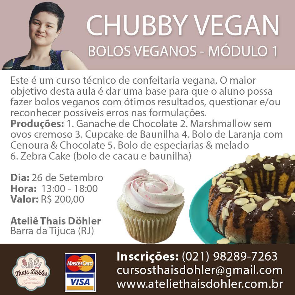 Workshop - Bolos Veganos Perfeitos - Módulo I