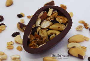 Nuts ovo de chocolate - Chubby Vegan