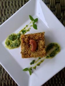 Quibe de lentilha chubby vegan - post