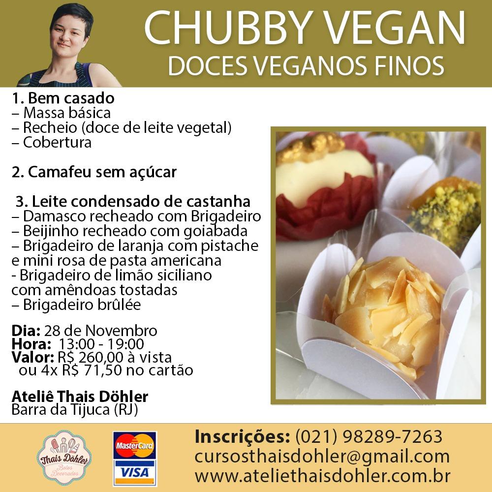 Workshop - Doces finos veganos