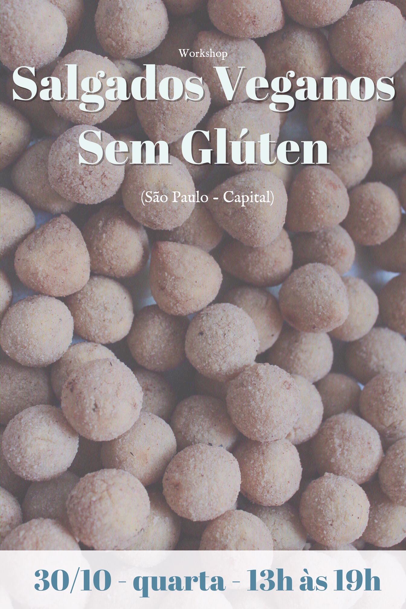 Workshop - Salgados Veganos sem glúten - Módulo II
